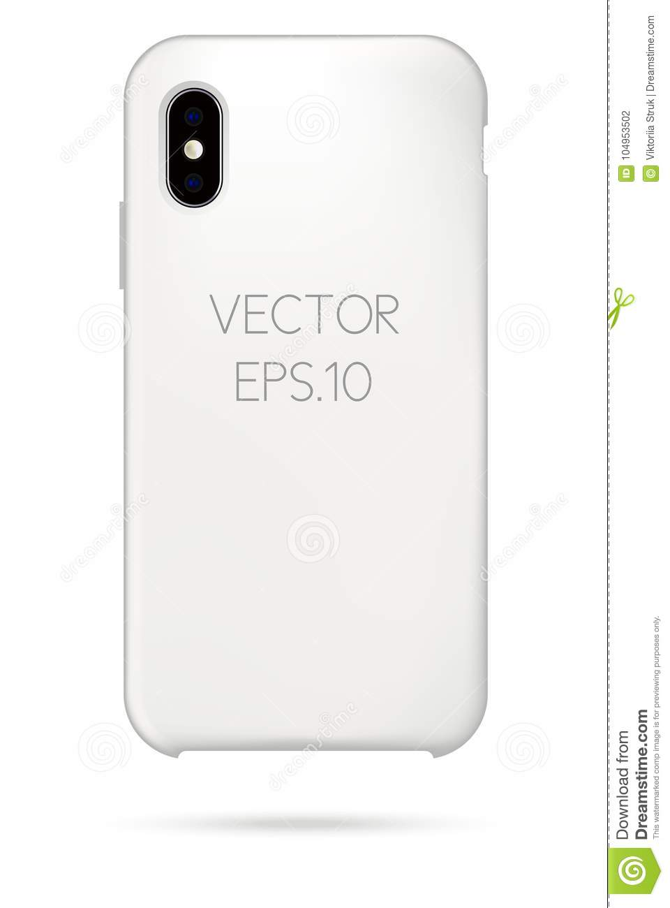 iphone cover vector