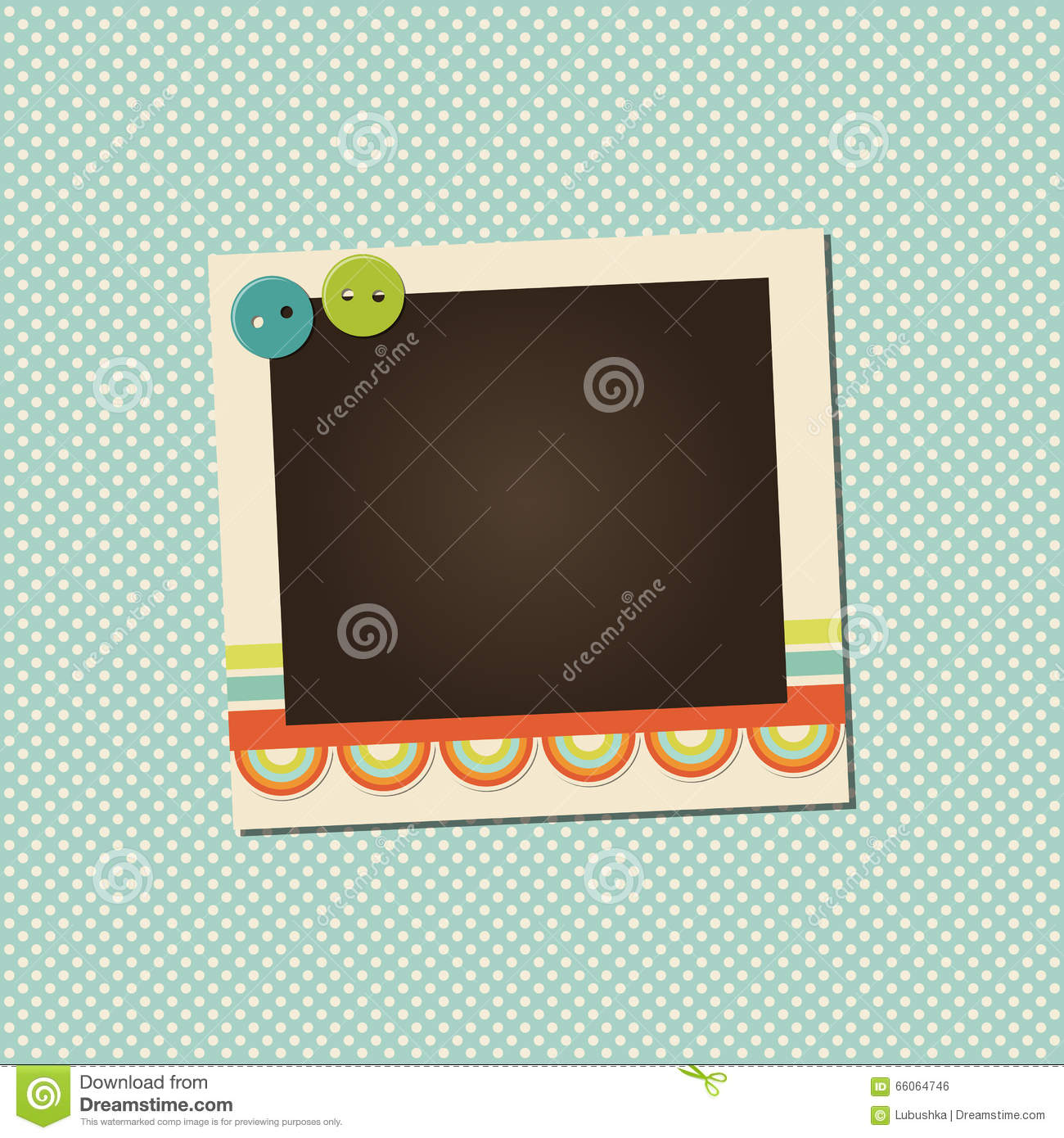 0244fe5172bc Vector photo frame stock vector. Illustration of abstract - 66064746