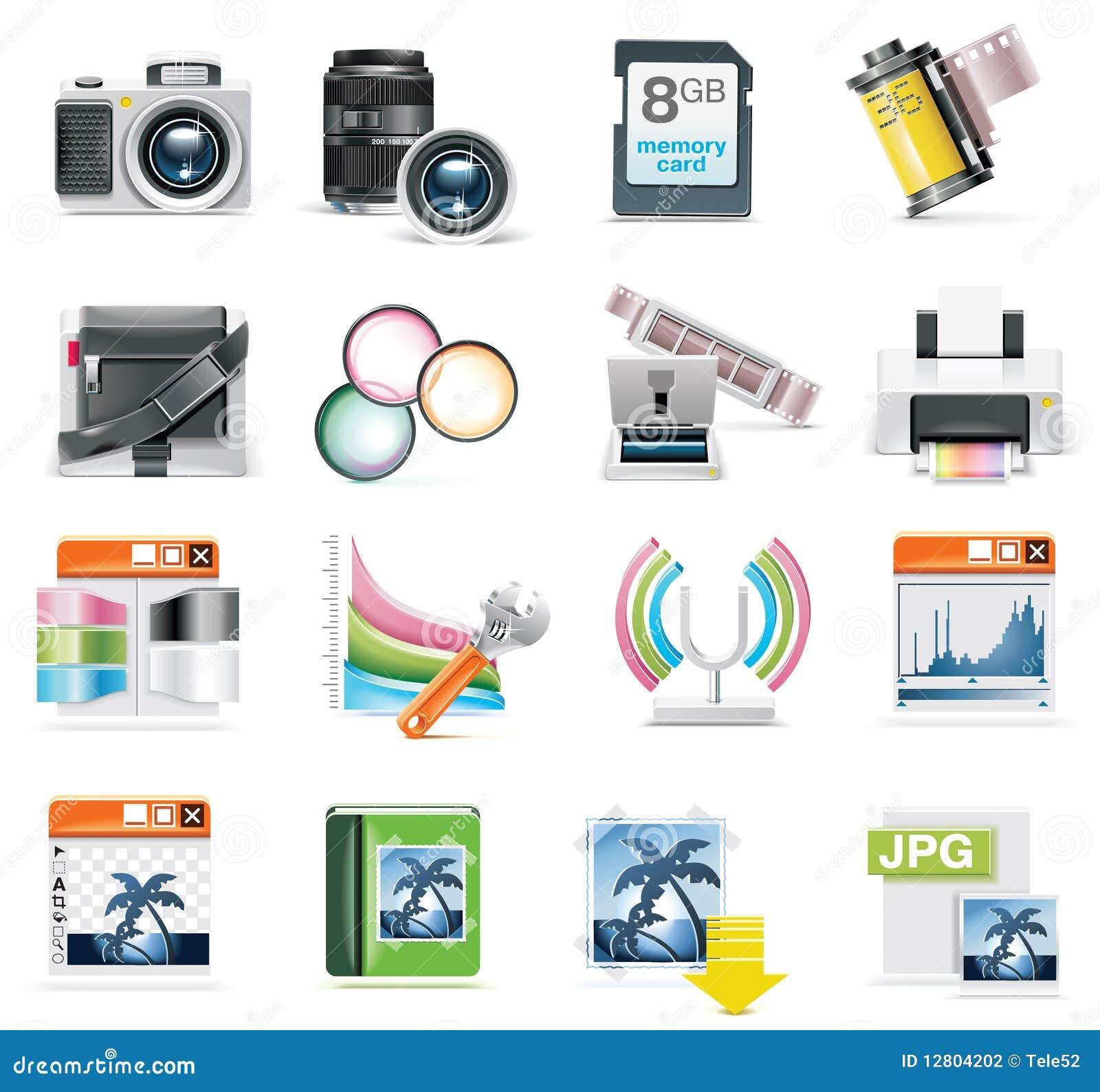 Vector Photography Ico...