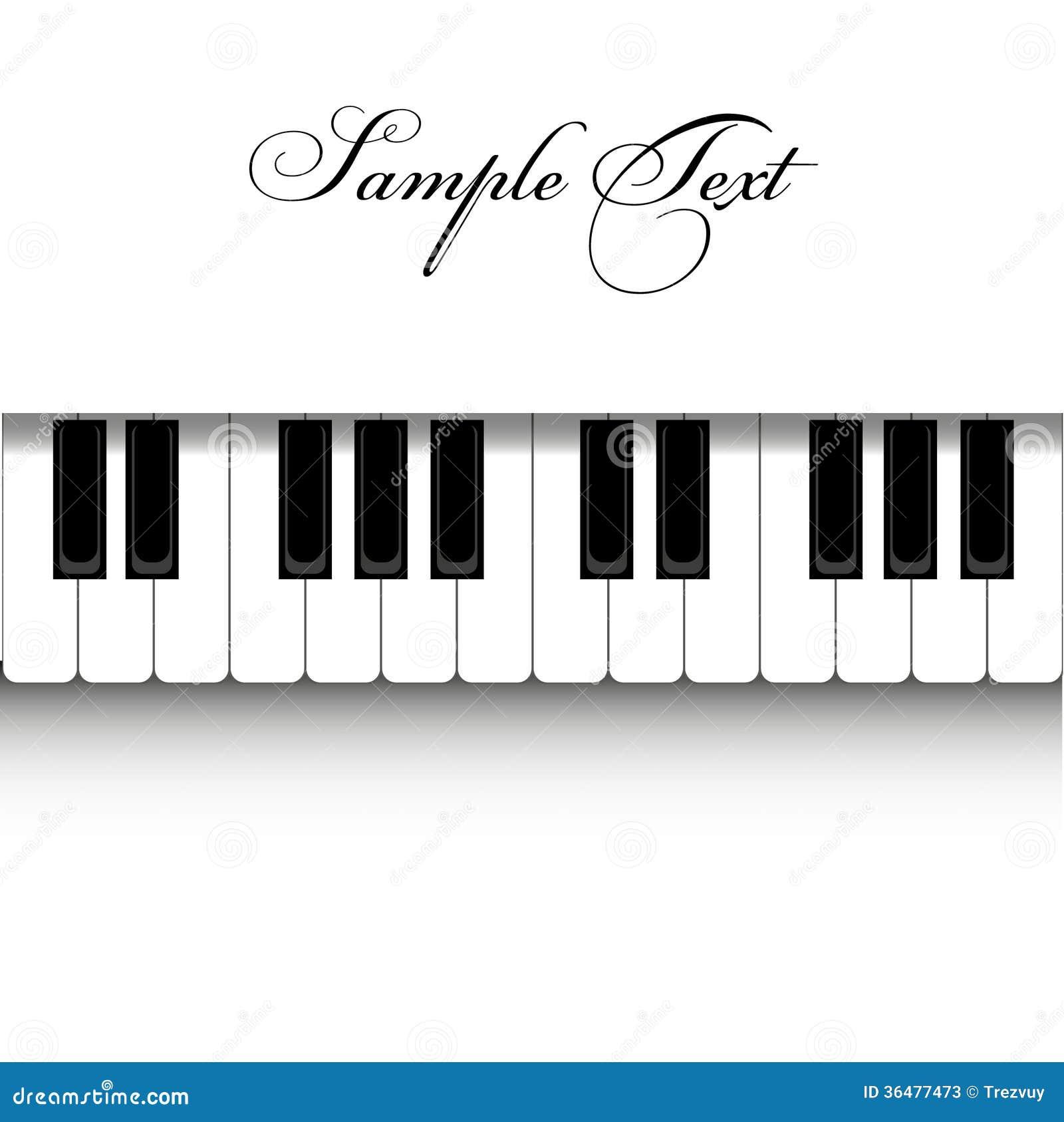 Vector Piano Design Stock Illustration Of Style
