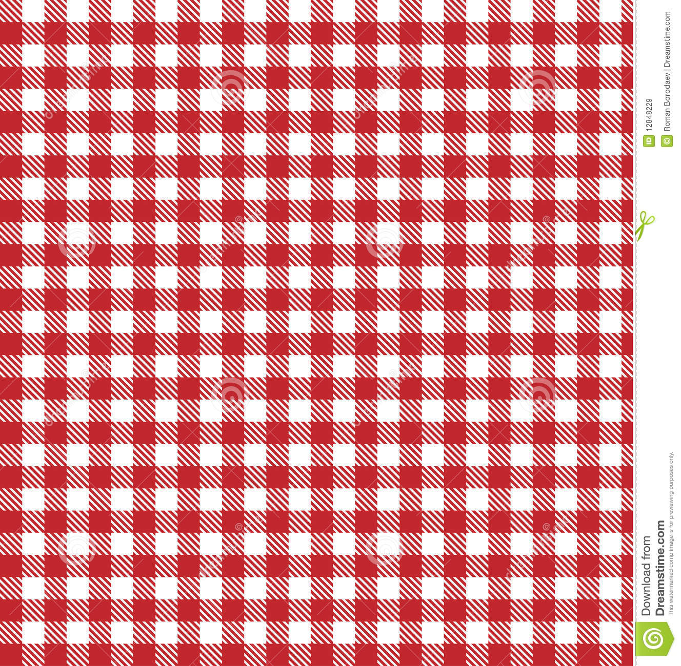 picnic table cloth tablecloth plaid red vector background fabric