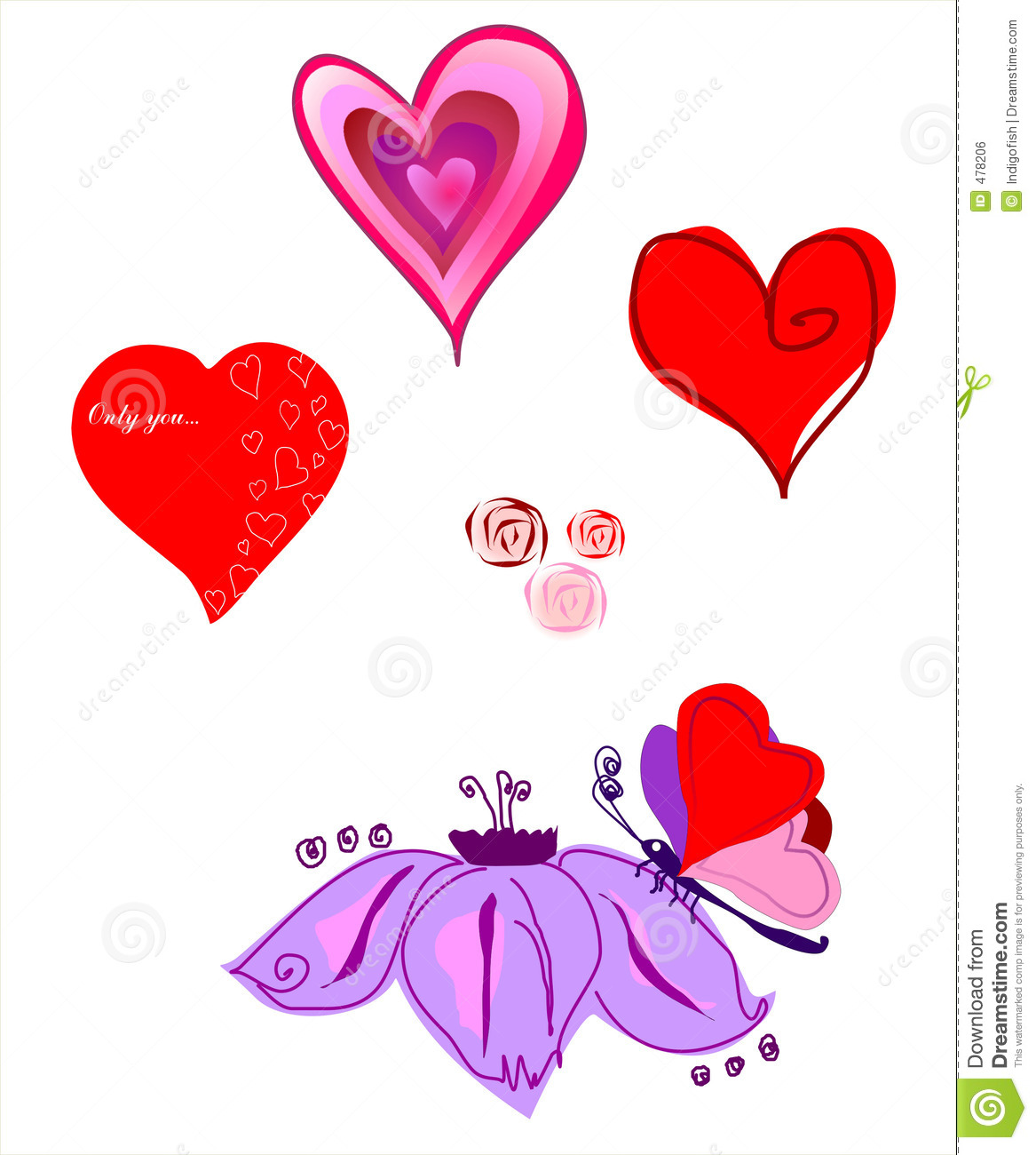 vector a picture by day of st valentine royalty free. Black Bedroom Furniture Sets. Home Design Ideas