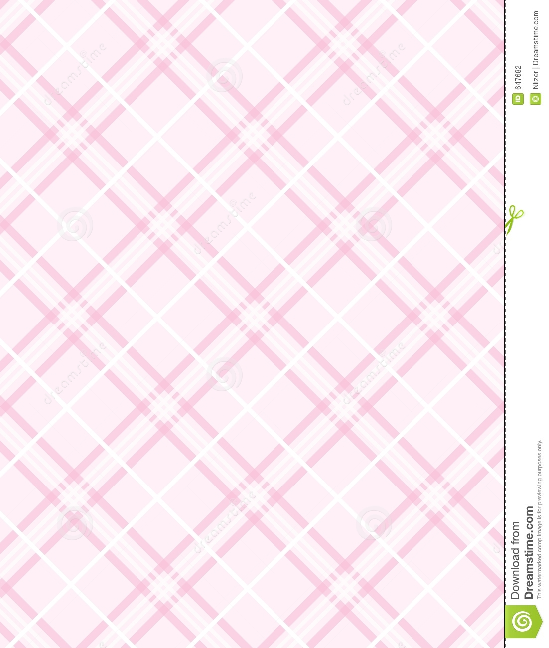 Vector Pink Plaid Background Stock Photography Image 647682
