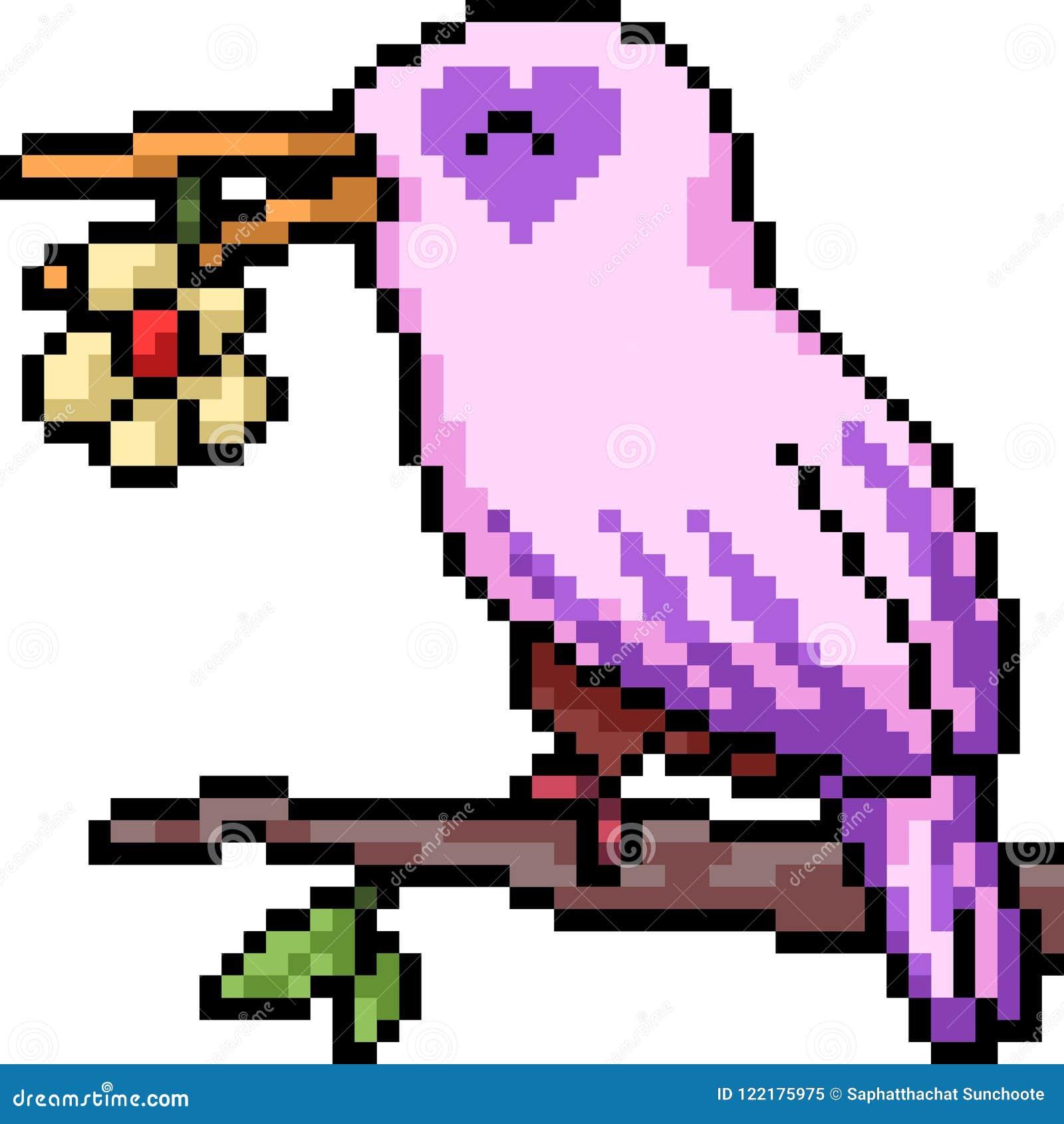 images?q=tbn:ANd9GcQh_l3eQ5xwiPy07kGEXjmjgmBKBRB7H2mRxCGhv1tFWg5c_mWT Pixel Art Bird @koolgadgetz.com.info