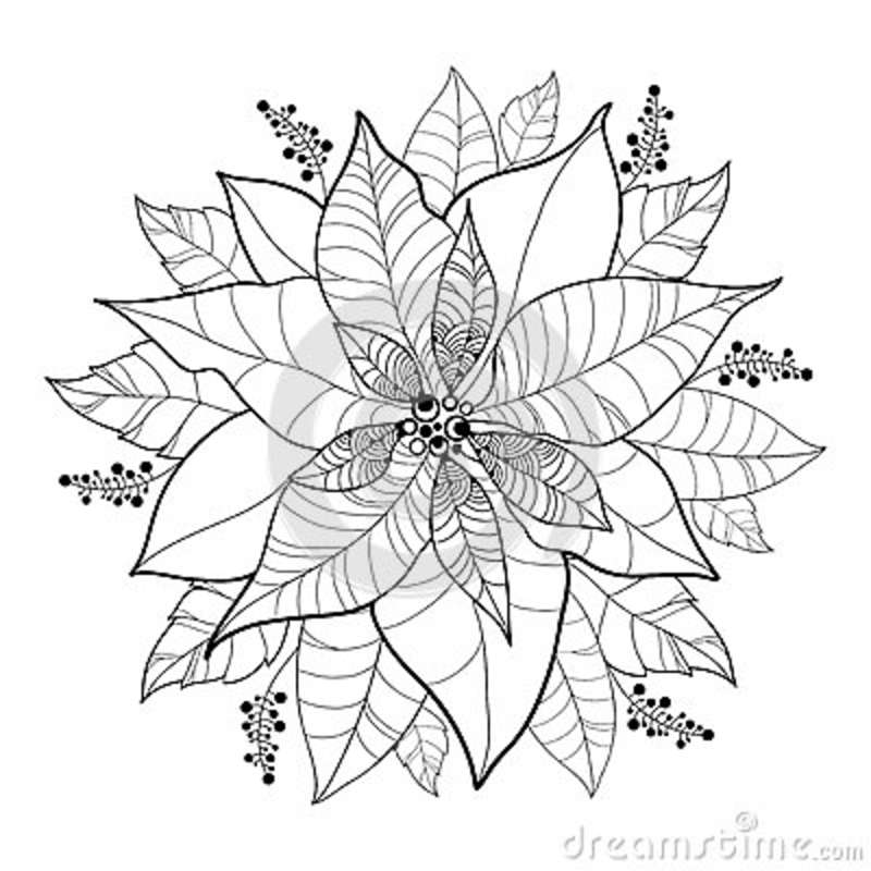 blackline christmas coloring pages - photo#17