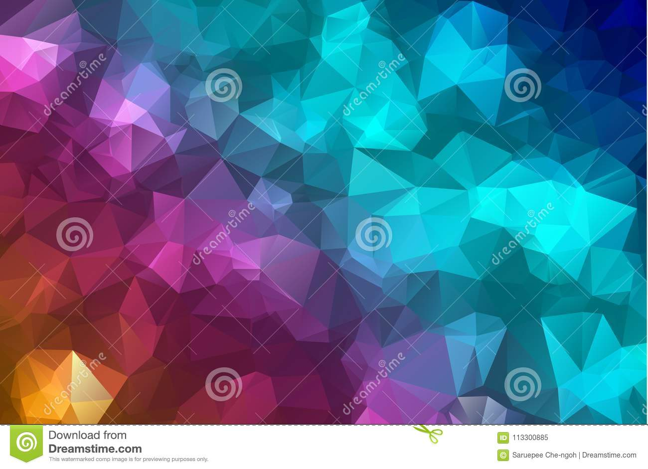 Vector Polygon Abstract modern Polygonal Geometric Triangle Background. colorful Geometric Triangle Background.