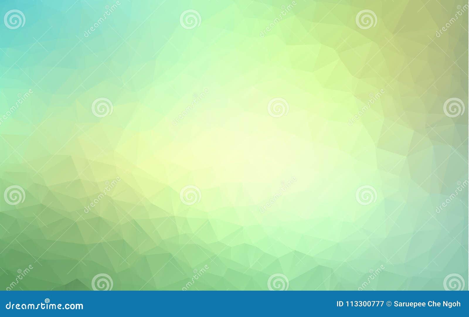 Vector Polygon-abstrakten modernen polygonalen geometrischen Dreieck-Hintergrund Hellgrüner geometrischer Dreieck-Hintergrund