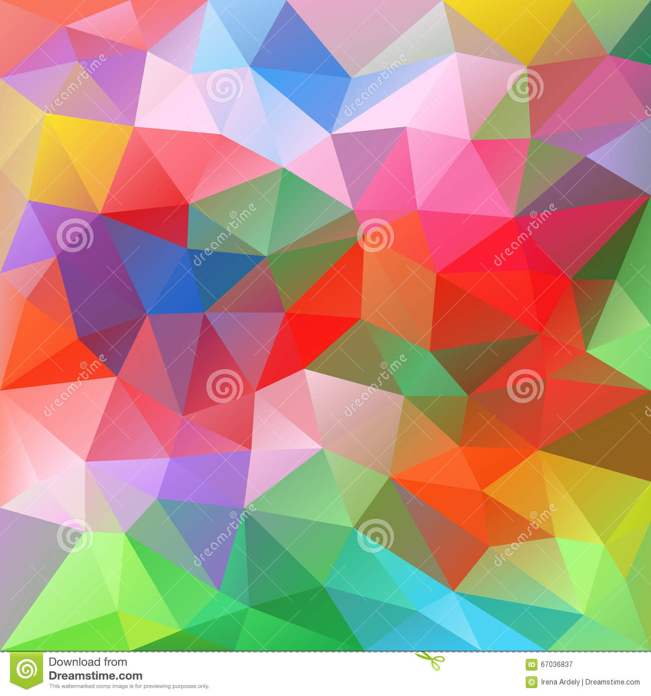 abstract polygonal colorful background - photo #19