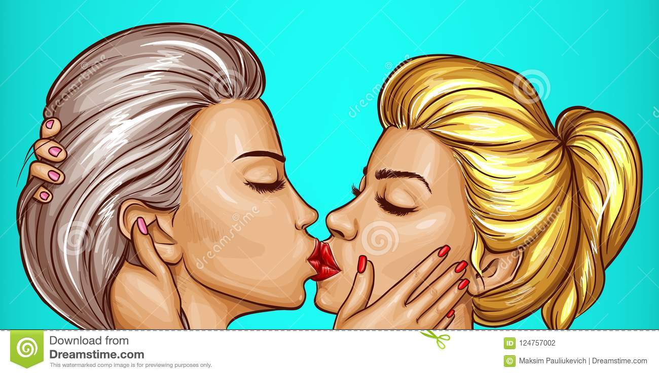 Useful Cartoon kissing lesbian valuable answer