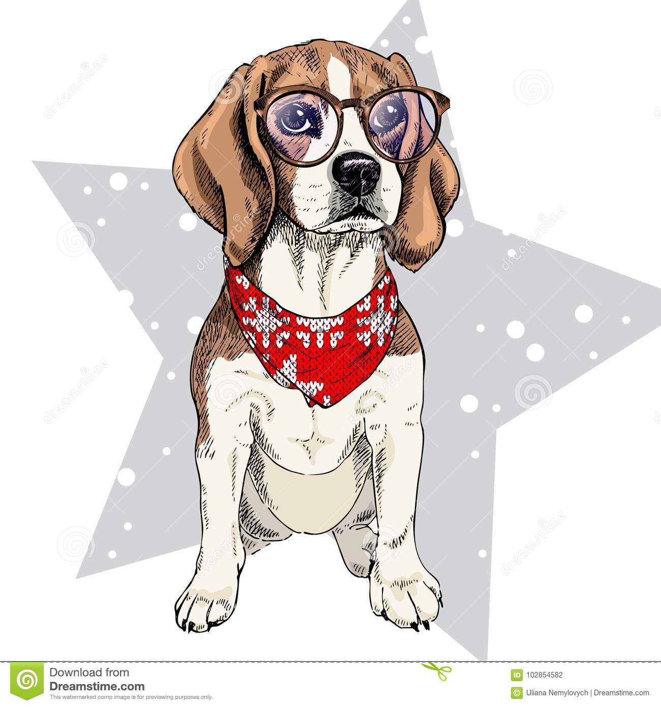 Beagle Cartoons Illustrations Amp Vector Stock Images