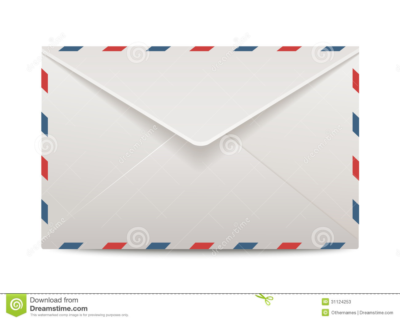 Vector Post Envelope Stock Photos - Image: 31124253