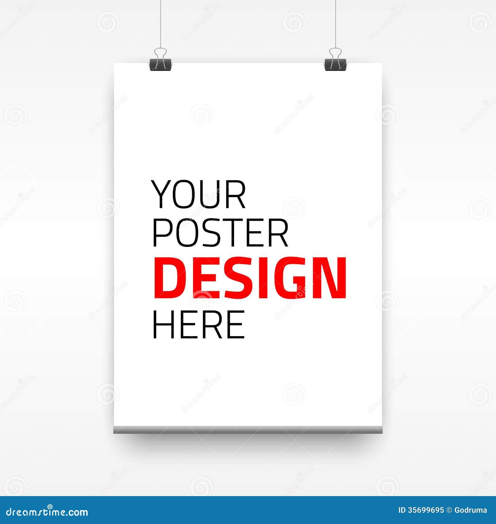 Niedlich Plakat Design Kostenlose Vorlage Fotos - Beispiel ...
