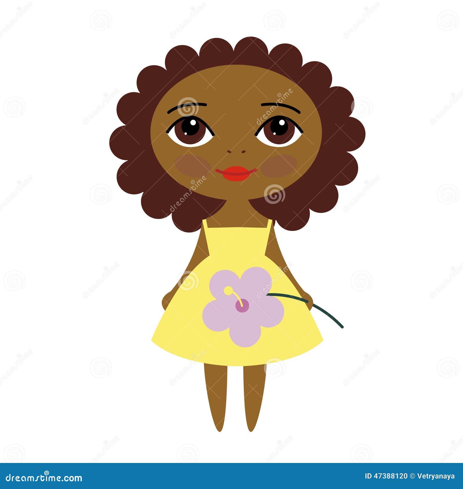 Vector Pretty Girl Stock Vector Illustration Of Cartoon 47388120