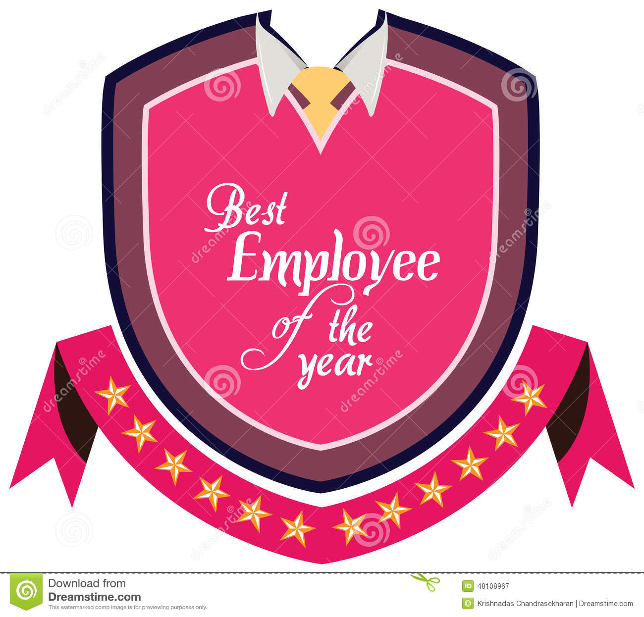Best employee certificate stock illustrations 170 best employee vector promo label of best employee service award of the year label to promote award 1betcityfo Images