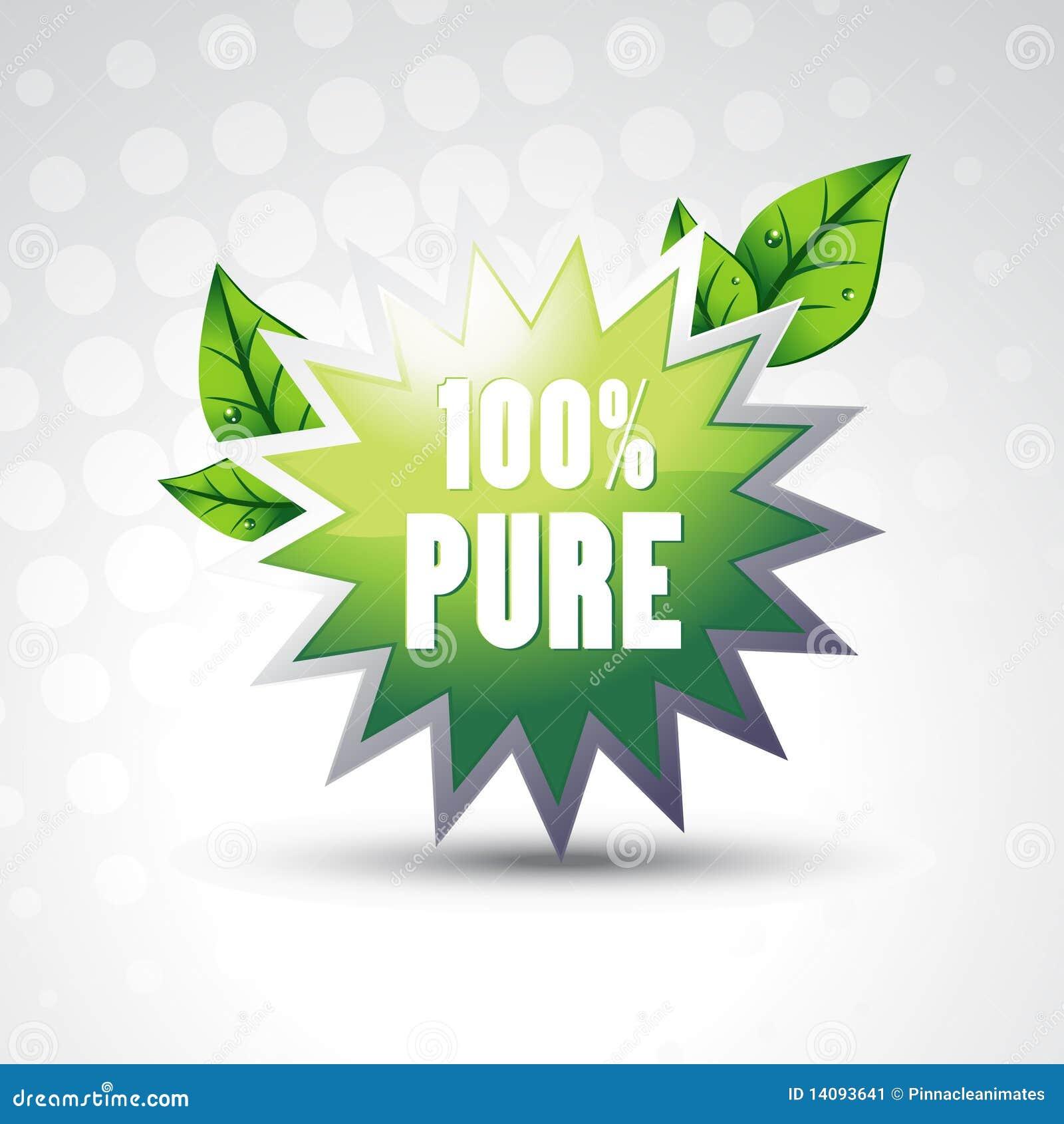 Vector Pure Symbol Stock Image - Image: 14093641