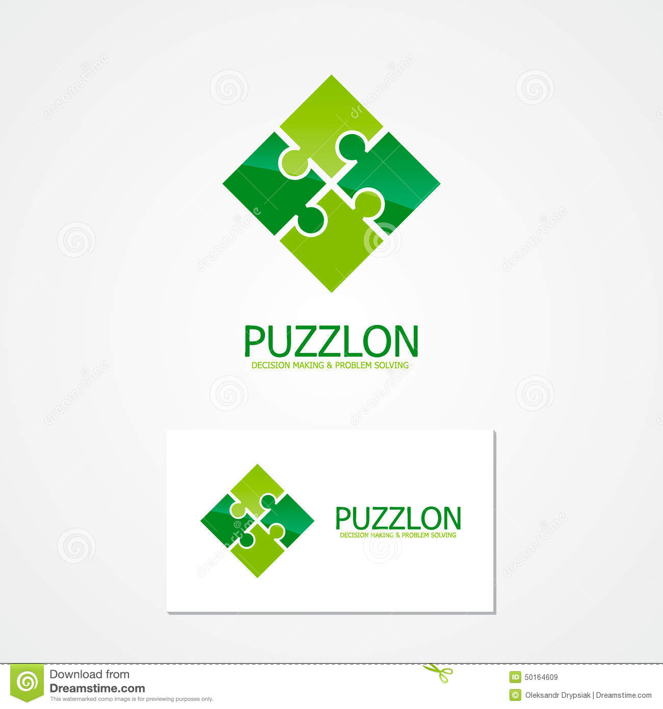 Vector puzzle design logo stock vector illustration of geometric download comp colourmoves