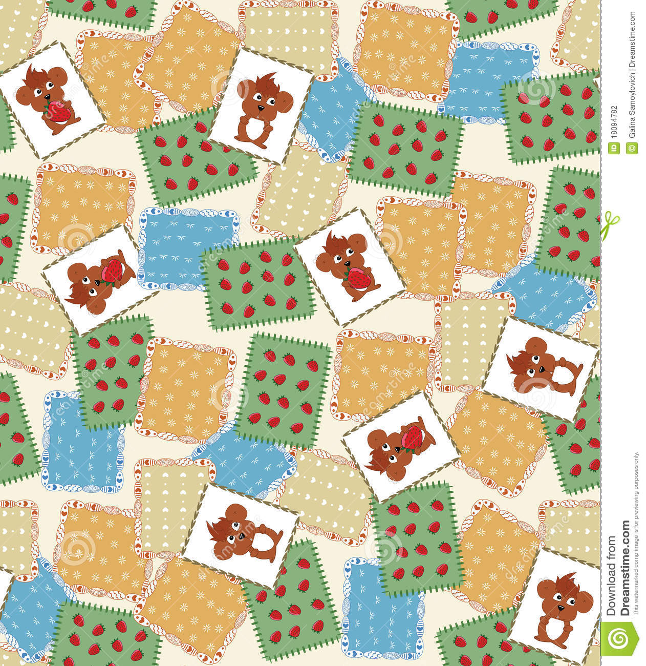 vector quilt background