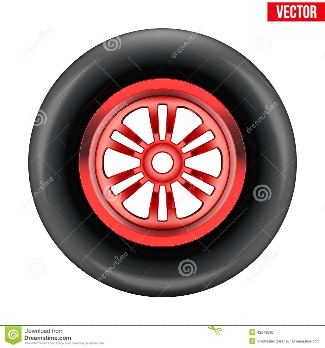 Vector Race Wheel And Tire Symbol Stock Vector - Illustration ... for Racing Tire Vector  177nar