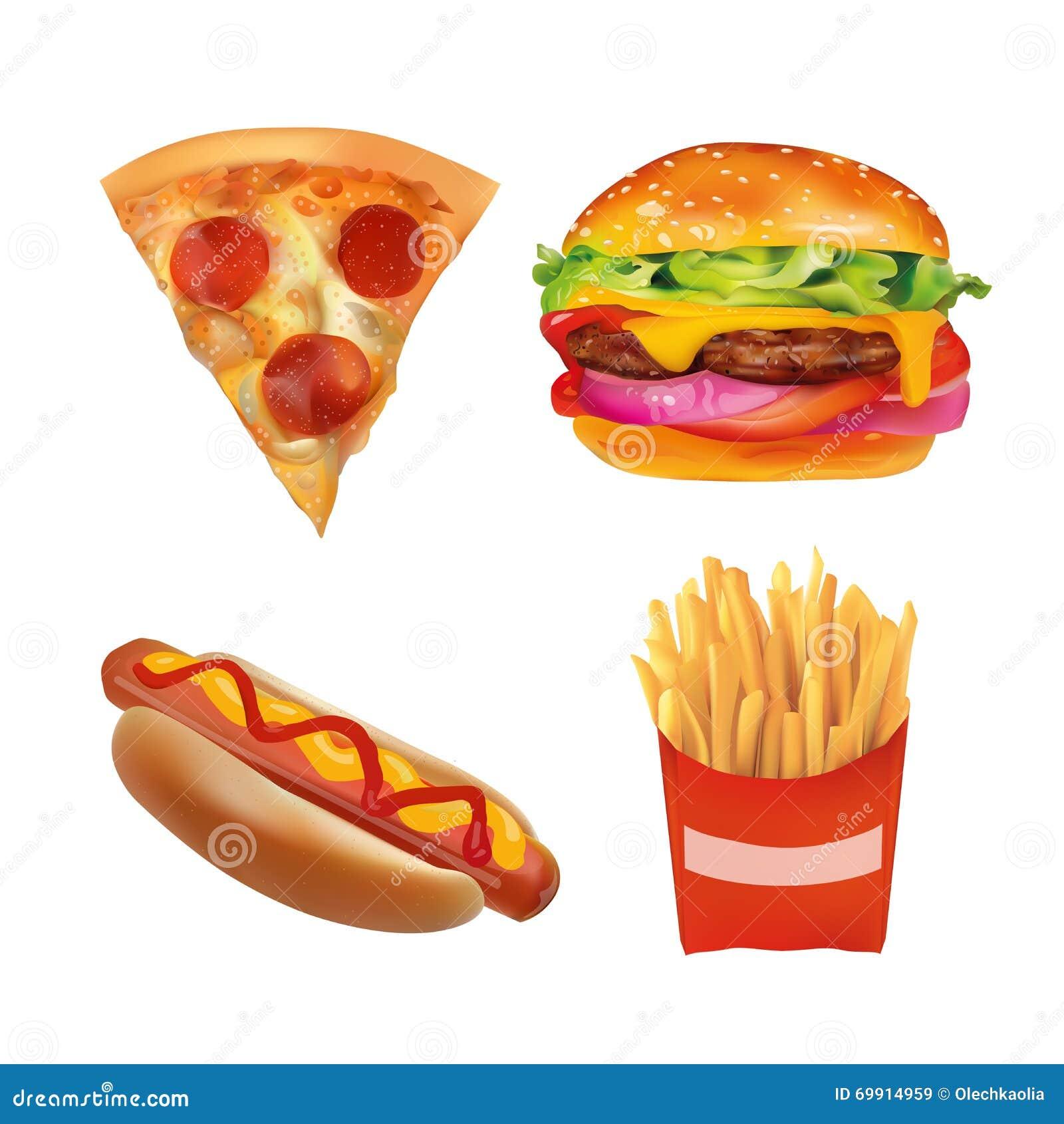 Fast Food Baguette Pizza
