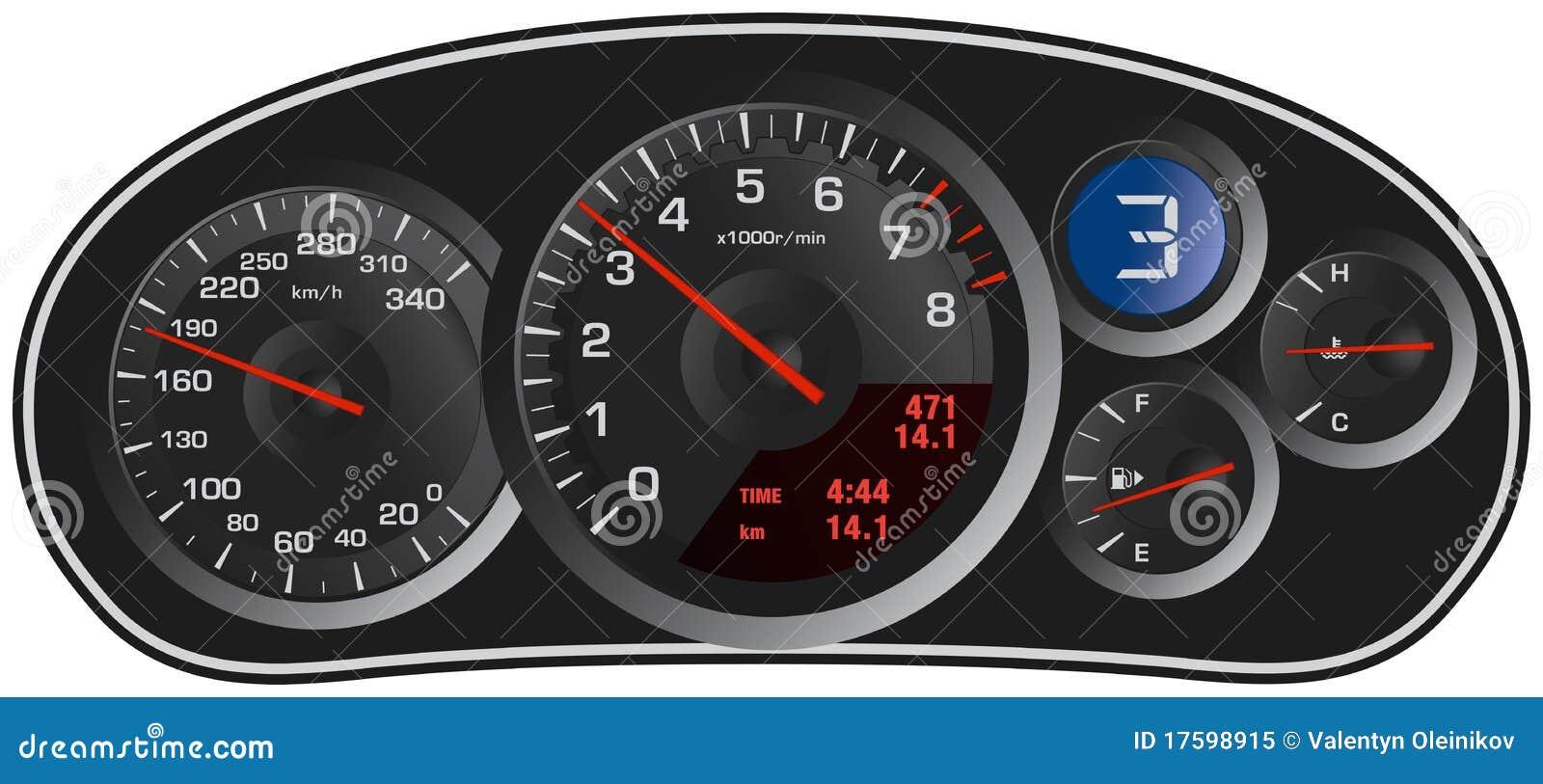 Car Dashboard Icons Set Stock Vector Illustration Of Battery - Car image sign of dashboardcar dashboard icons stock images royaltyfree imagesvectors