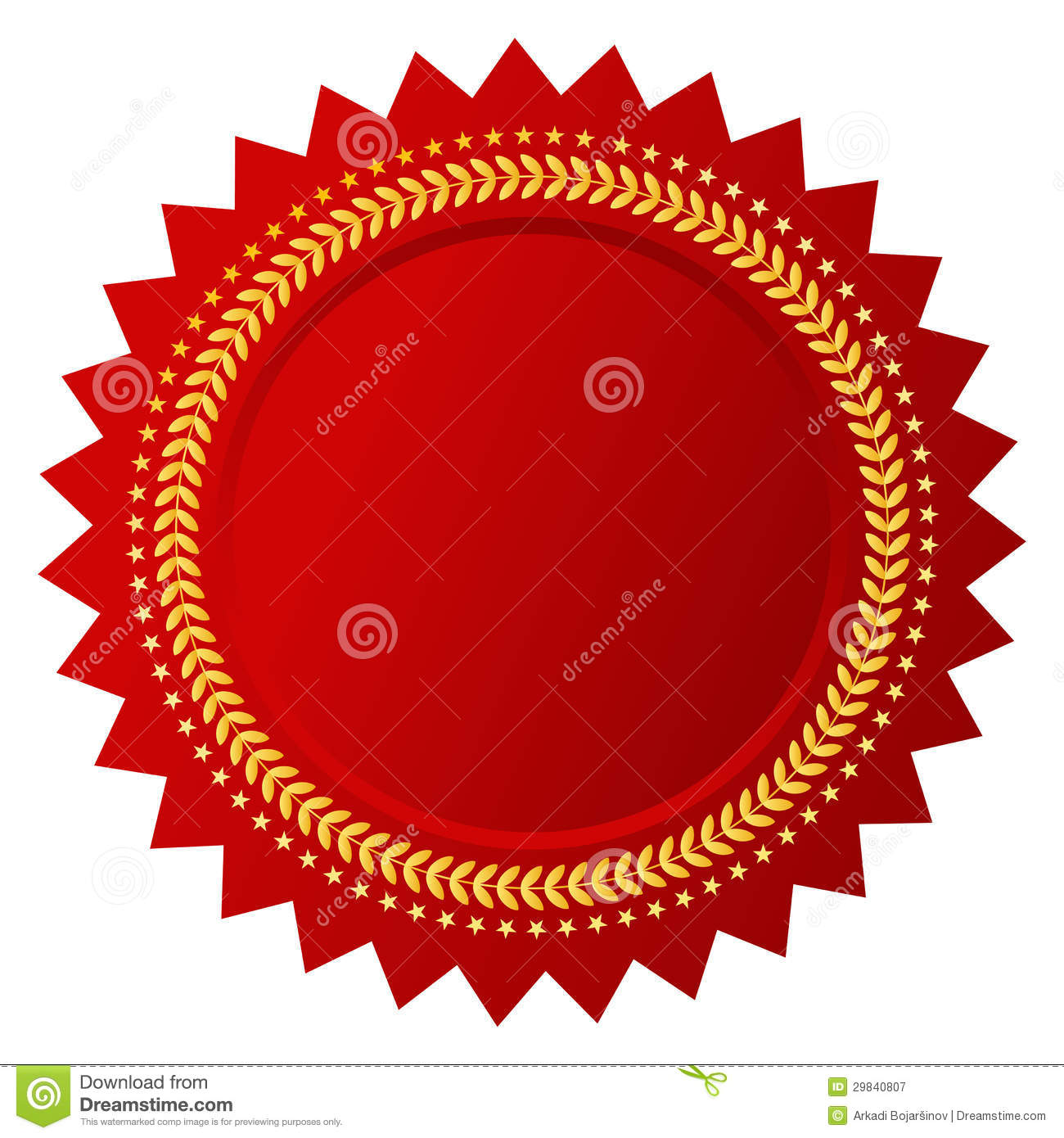 Vector Certificate Royalty Free Stock Photography Image