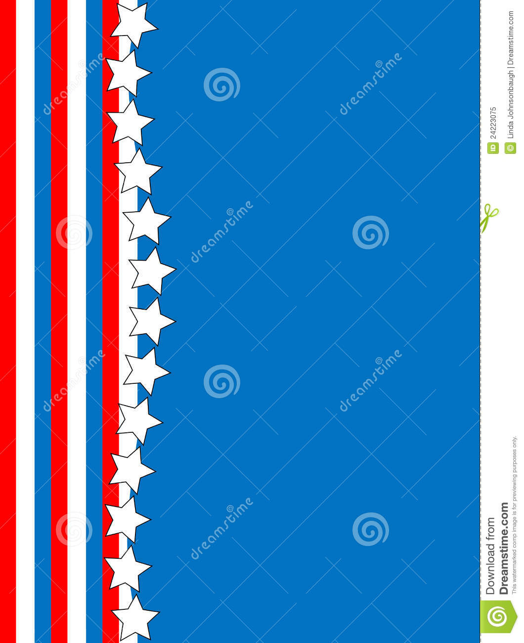 Vector Red White Blue Star Striped Background Royalty Free Stock Photo ...