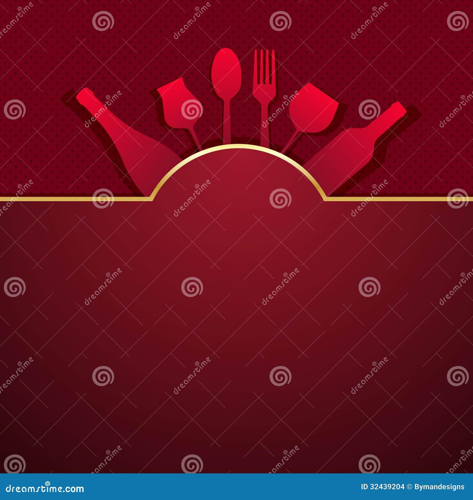 Vector Restaurant Menu Design Stock Images Image 32439204
