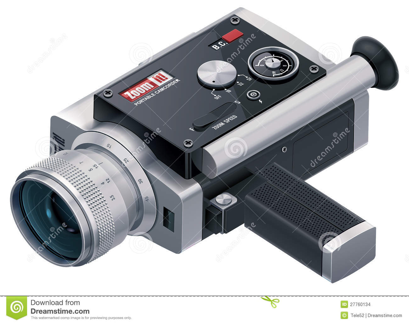 Camcorder Camera Retro Video Stock Illustrations – 307 Camcorder ...