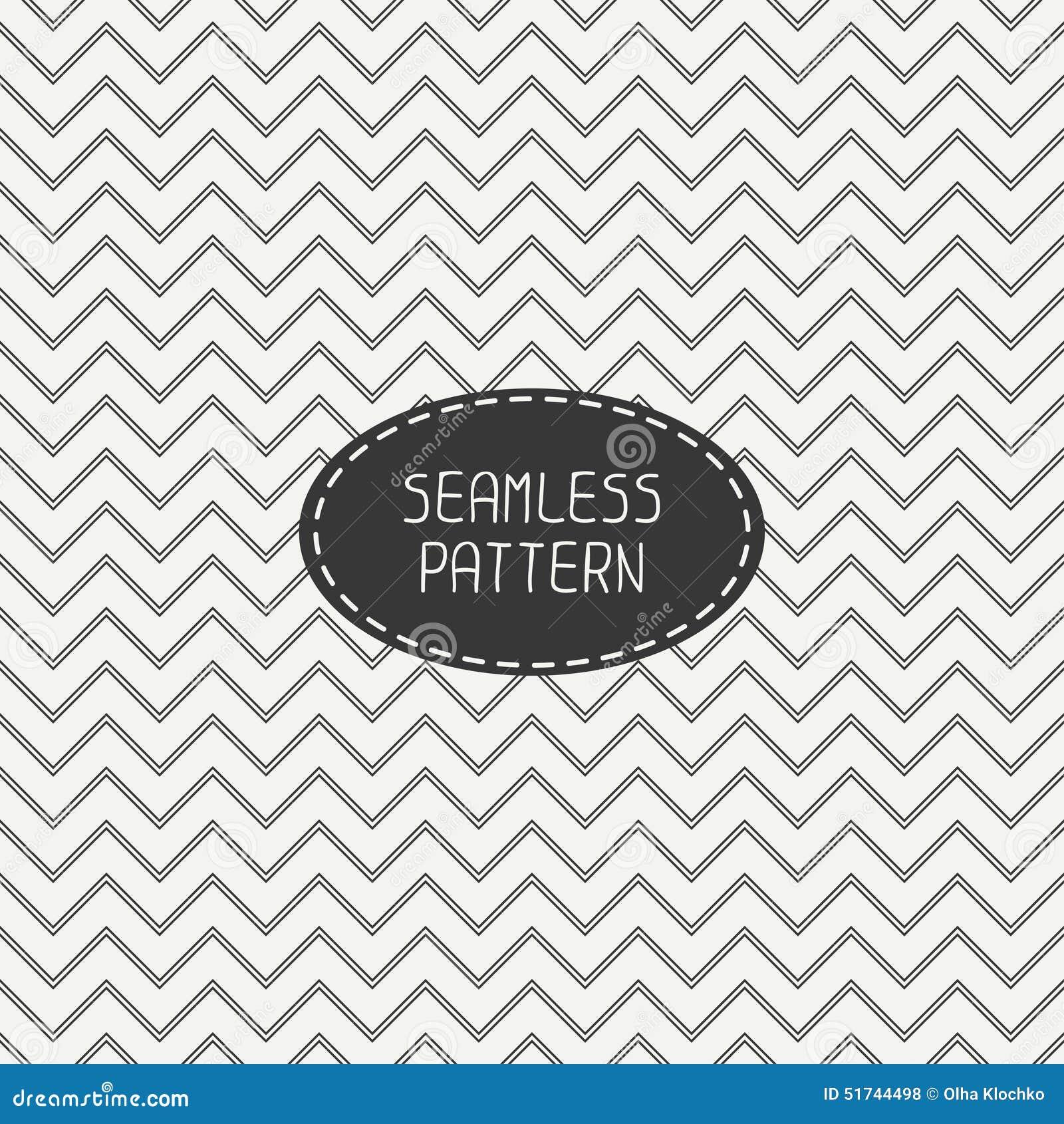vector retro chevron zigzag stripes geometric cartoon vector 51497425. Black Bedroom Furniture Sets. Home Design Ideas