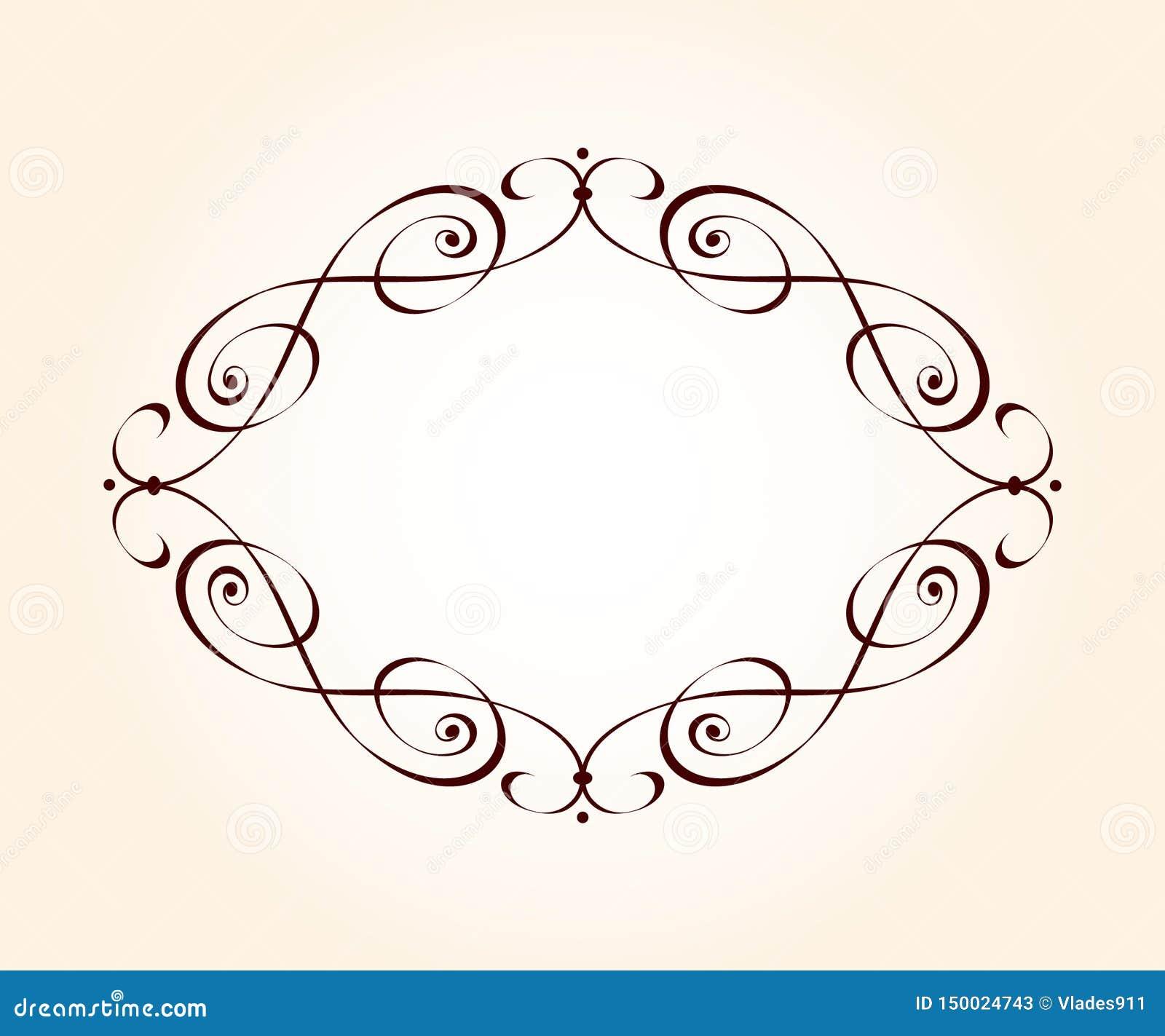Vector retro frames .Vector illustration.Brown beige.