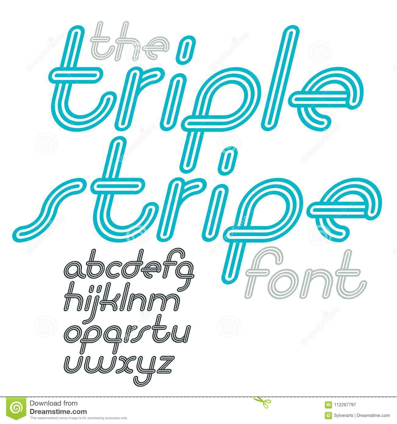 vector retro lowercase english alphabet letters collection. cool