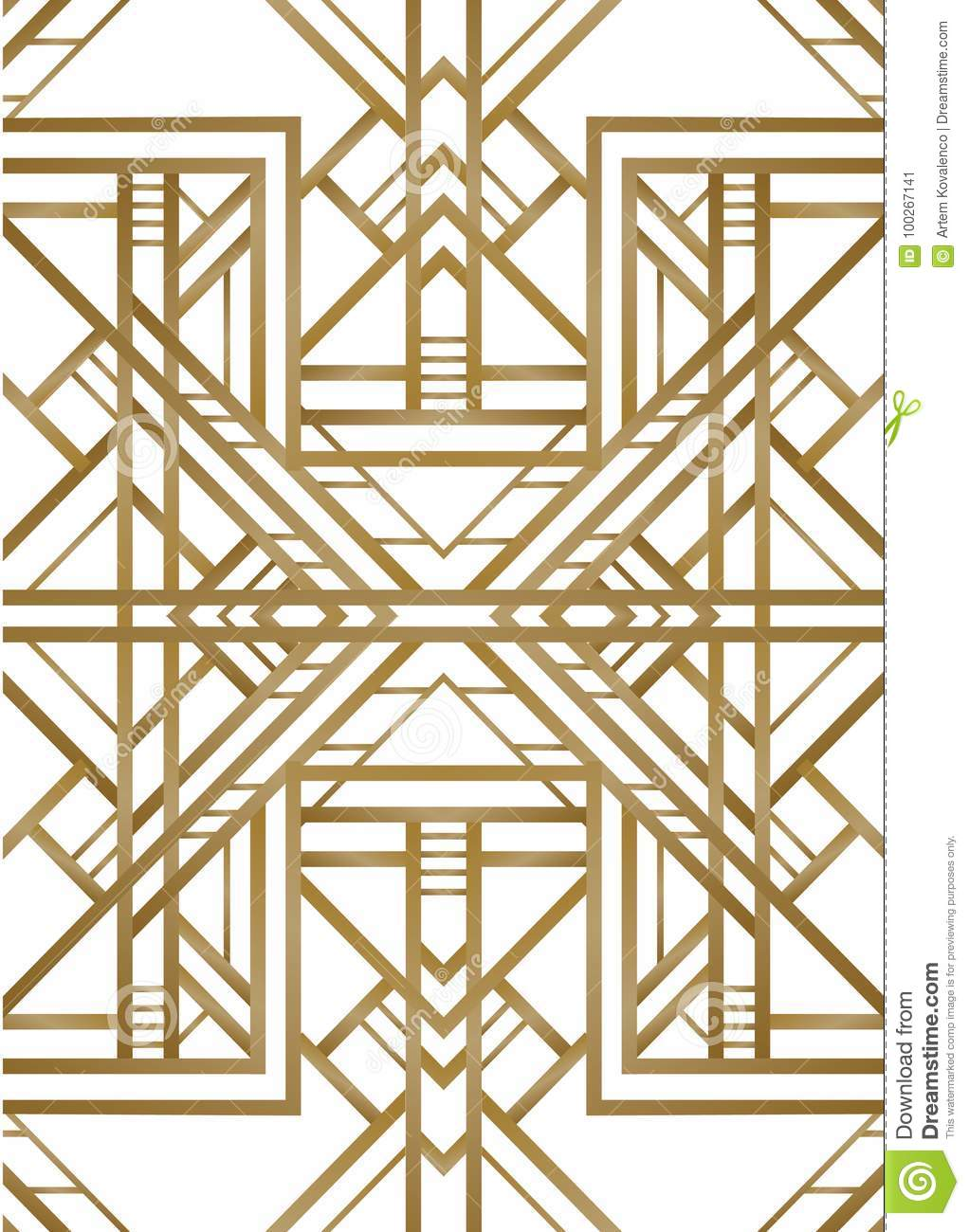 Vector Retro Pattern For Vintage Party Stock Vector ...