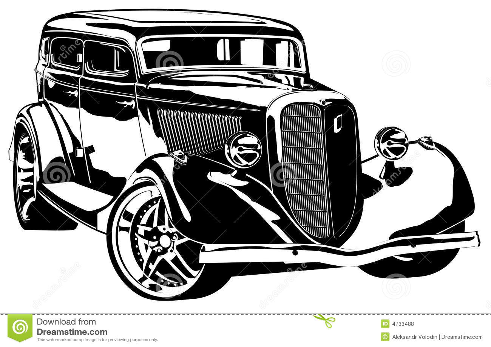 Custom Car Cover Royalty Free