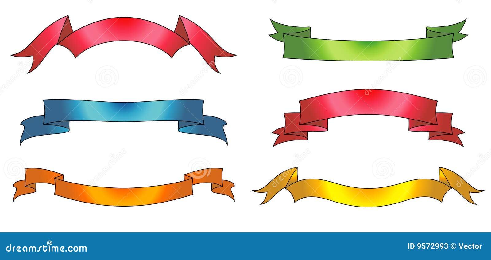 vector ribbons stock vector image of elegant image blank 9572993