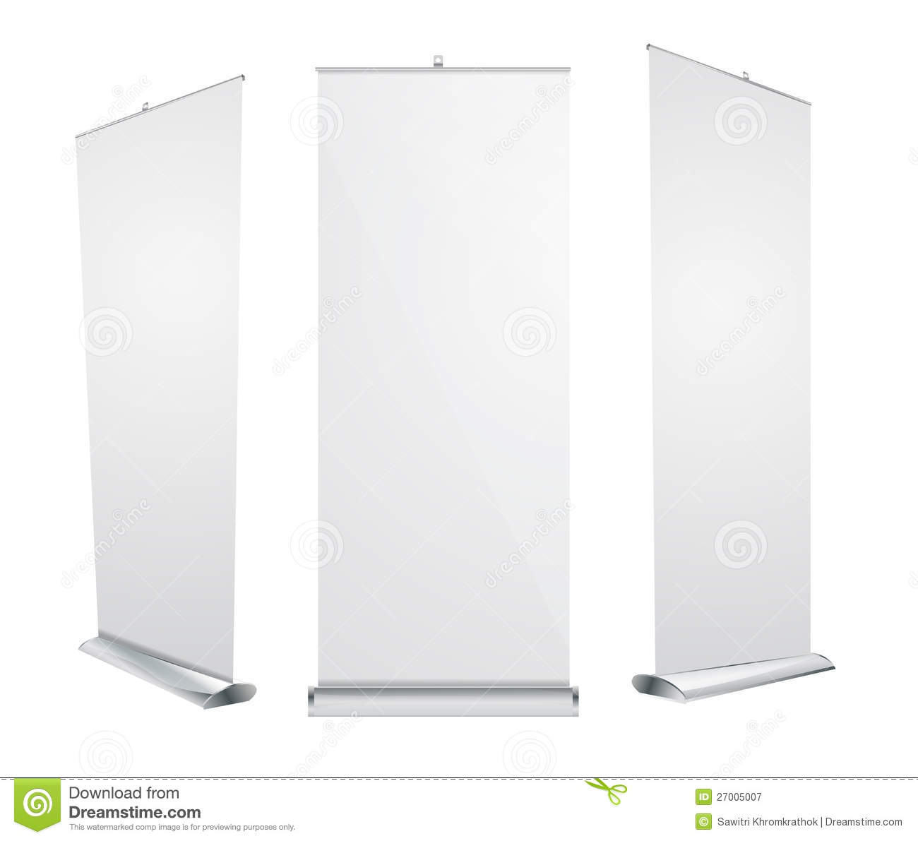 Exhibition Stand Roll Up : Vector roll up banner exhibition display royalty free