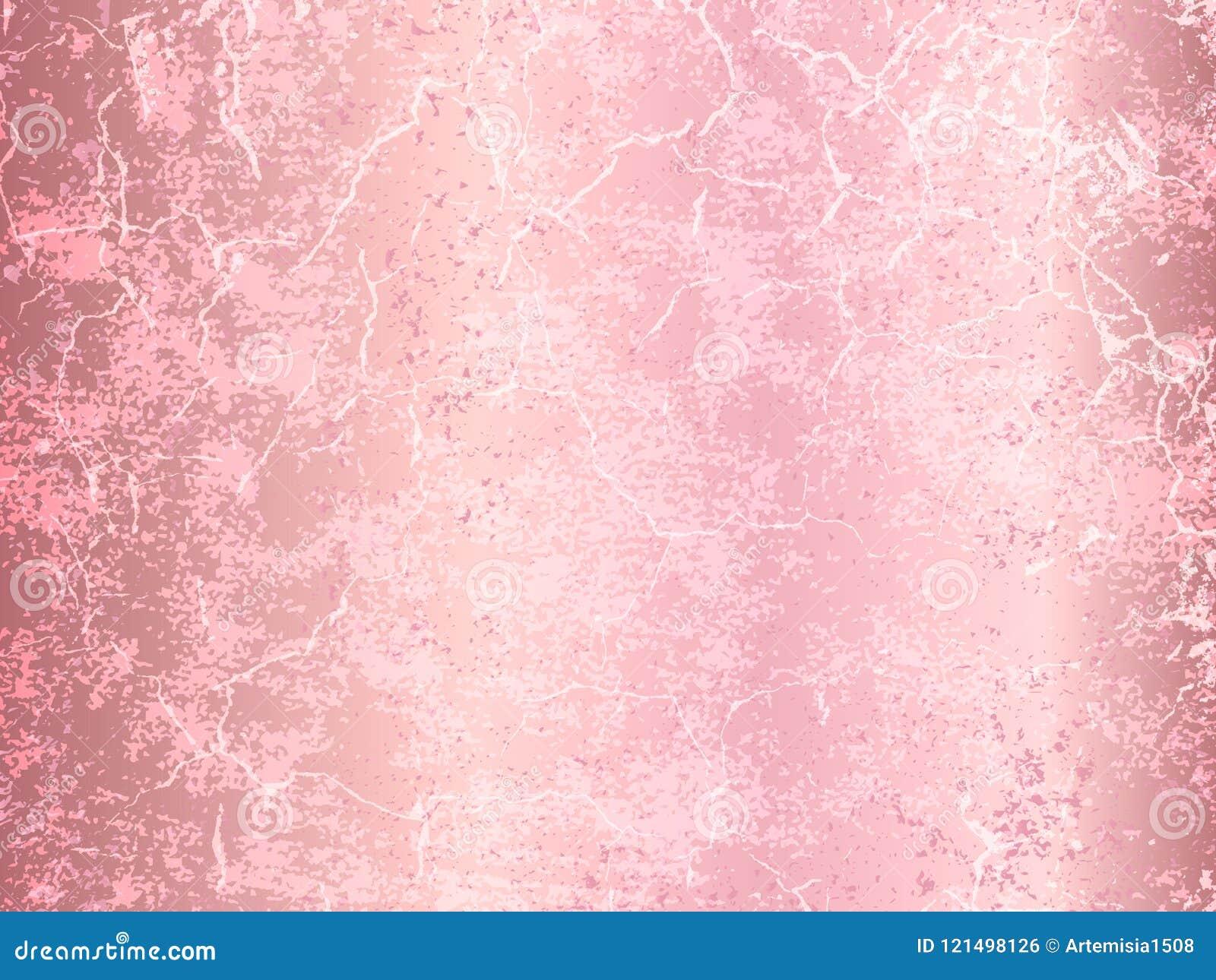 Vector Rose Gold Marble Background Rose Gold Metallic Texture Stock Vector Illustration Of Light Invitation 121498126