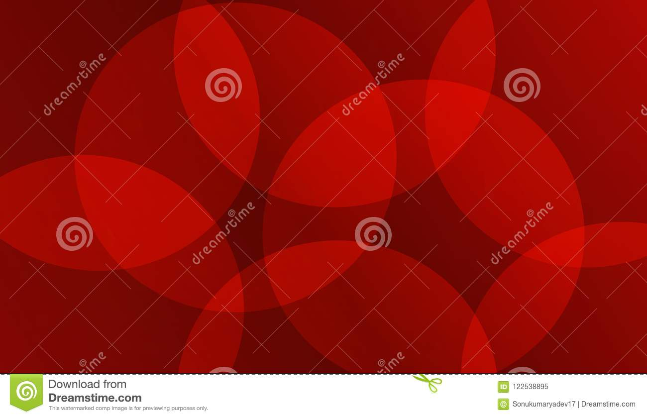 Vector Round Red Background Web Wallpaper Illustration Stock