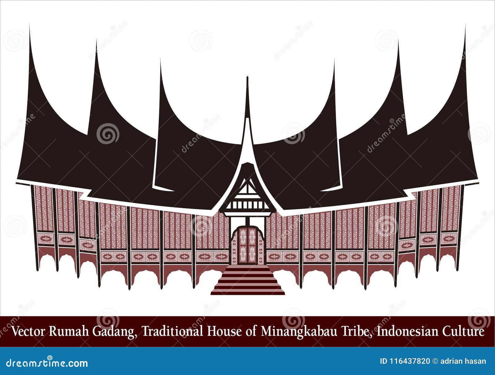 7000 Gambar Rumah Gadang Minang Gratis Terbaru