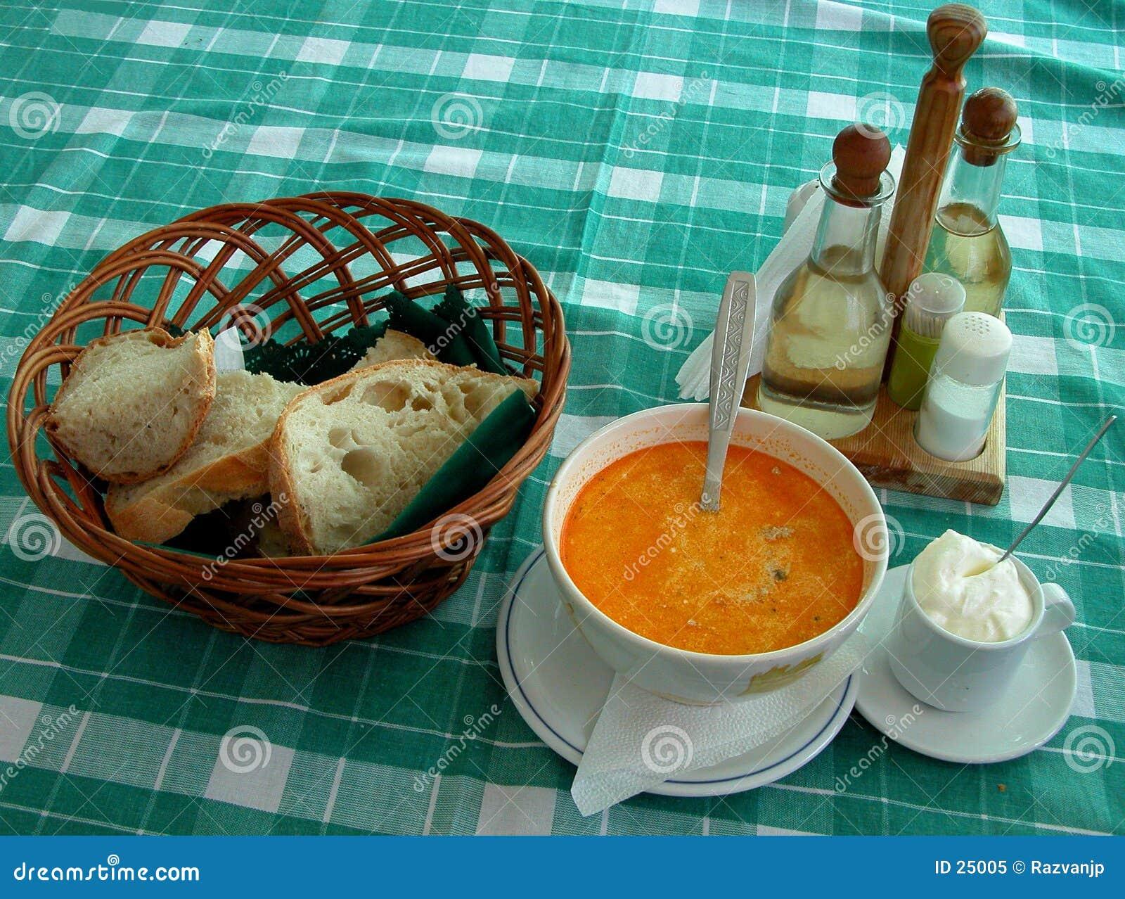 Vector rumano del restaurante