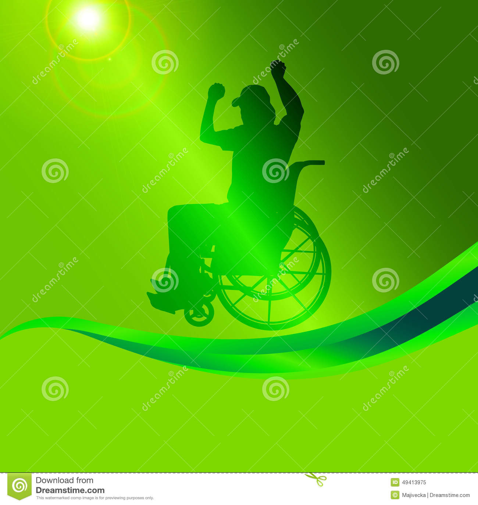 Download Vector Schattenbild Eines Mannes In Einem Rollstuhl Vektor Abbildung - Illustration von abbildung, sitting: 49413975