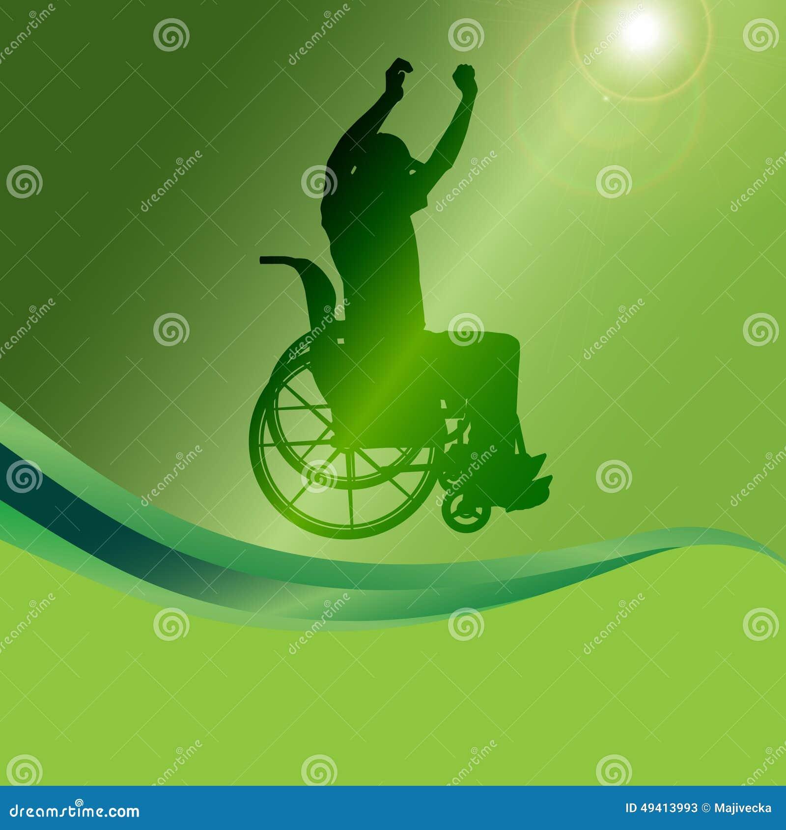 Download Vector Schattenbild Eines Mannes In Einem Rollstuhl Vektor Abbildung - Illustration von gesund, unterstützung: 49413993