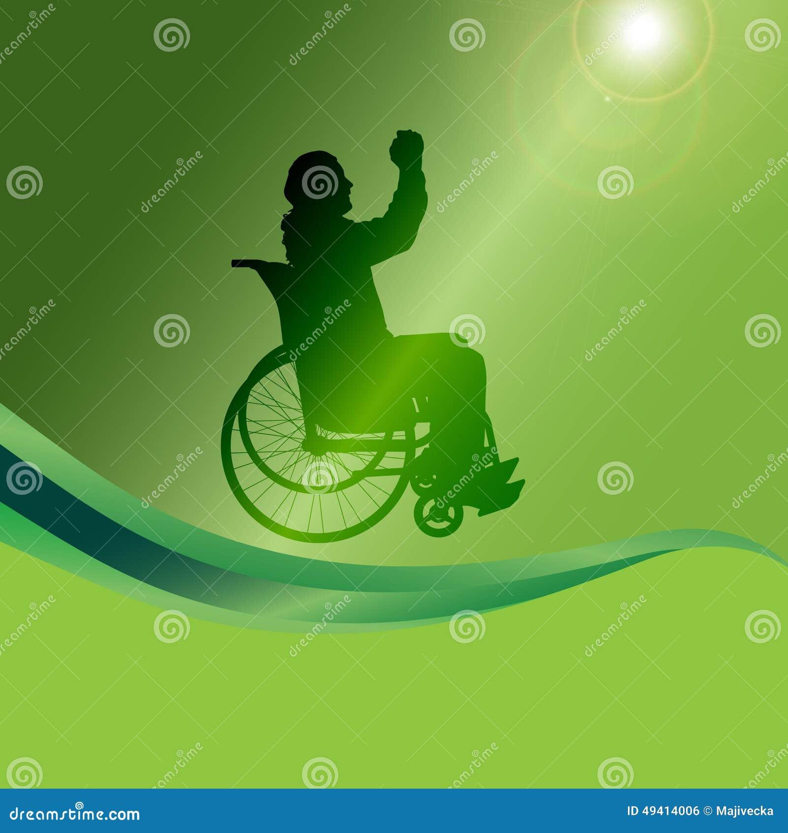 Download Vector Schattenbild Eines Mannes In Einem Rollstuhl Vektor Abbildung - Illustration von abbildung, krankenhaus: 49414006