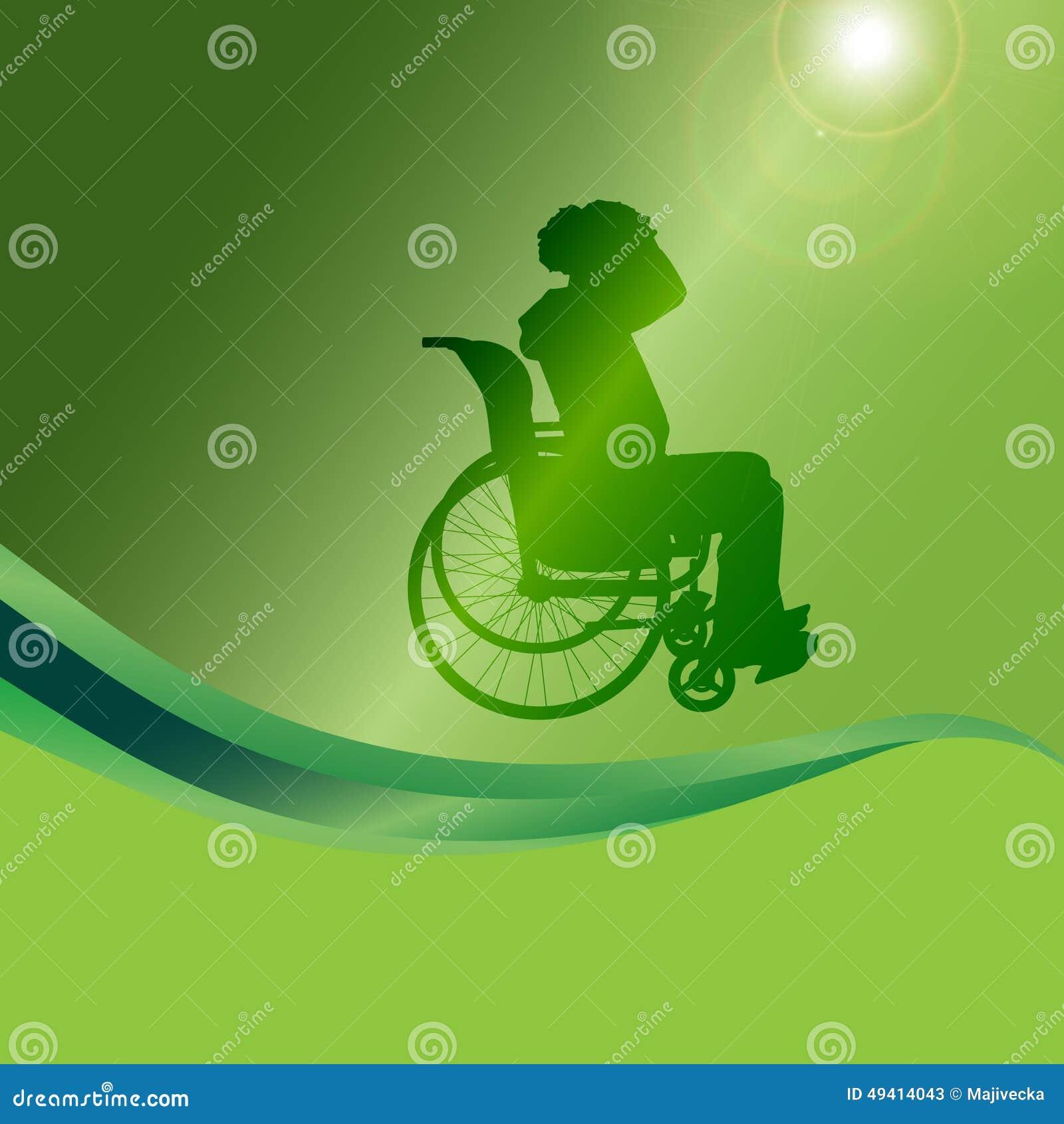 Download Vector Schattenbild Eines Mannes In Einem Rollstuhl Vektor Abbildung - Illustration von mobilität, mann: 49414043