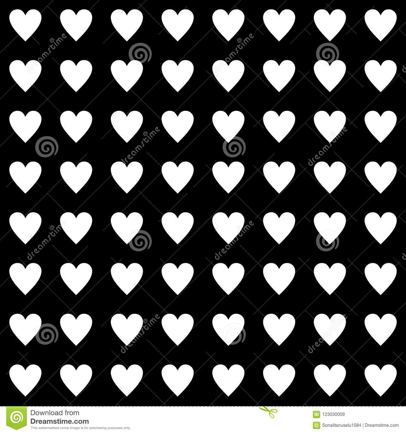 Vector Seamless Abstract Pattern Black And White Abstract