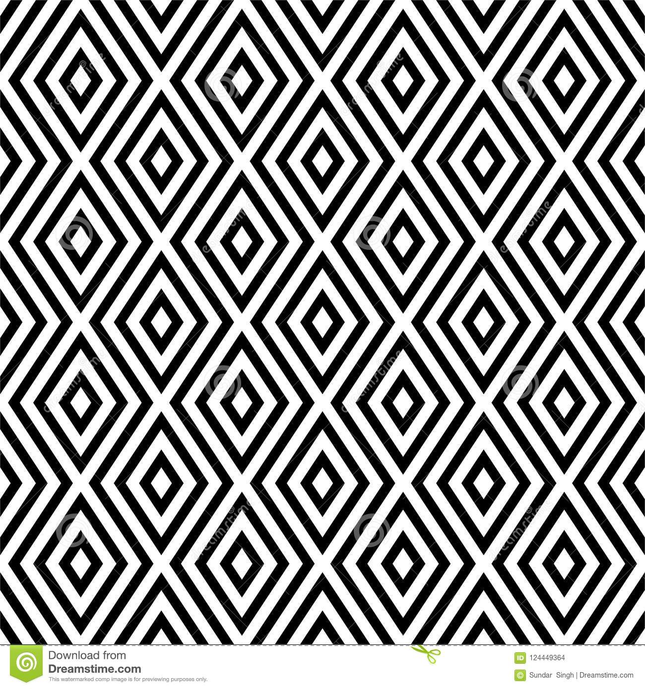 Vector Seamless Abstract Diagonal Pattern Black And White Abstract Background Wallpaper Vector Illustration Stock Vector Illustration Of Bookcoversscreen Clothes 124449364