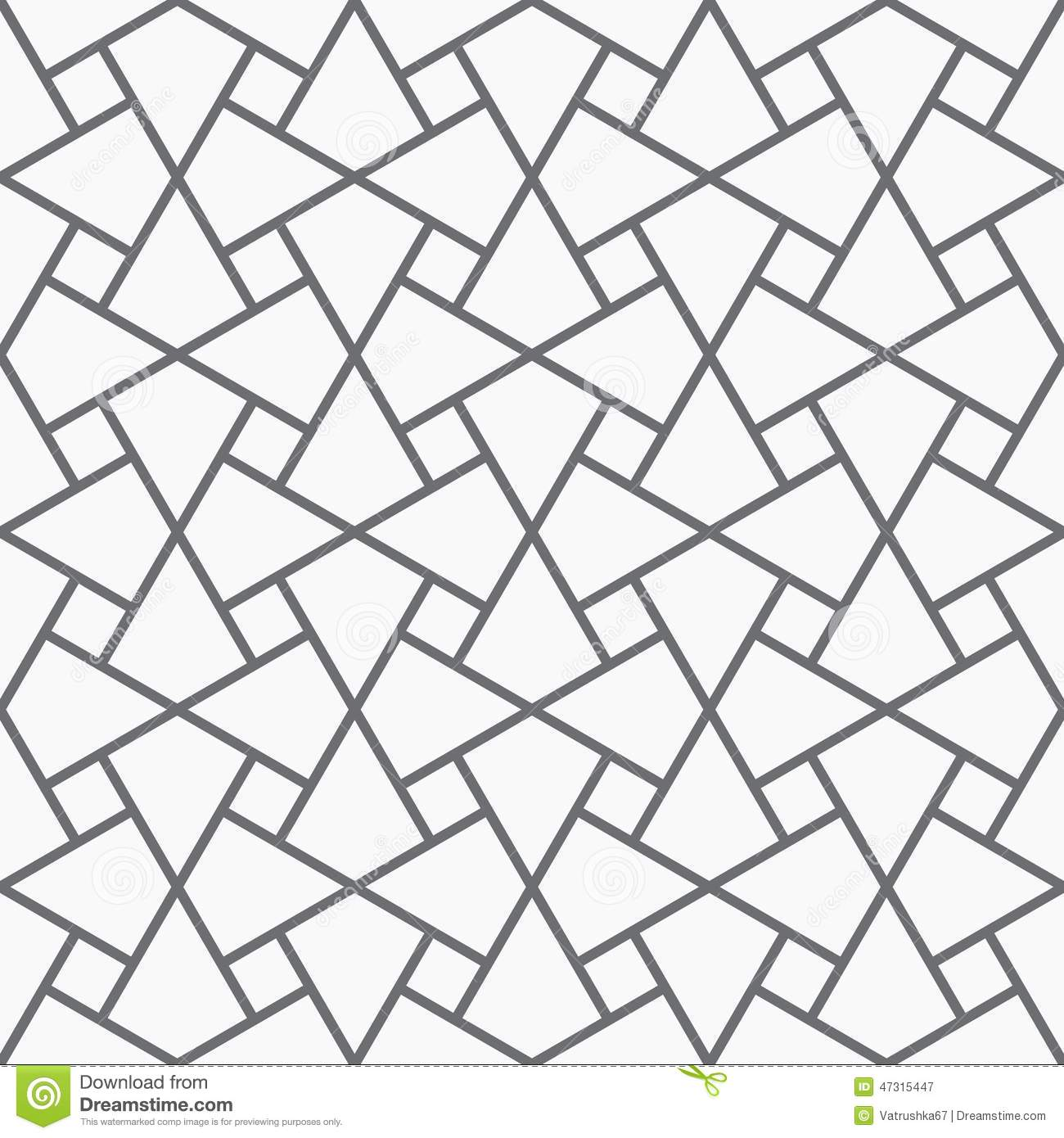 Vector Seamless Arabic Pattern. Stock Vector - Illustration of ... for Modern Arabic Pattern Vector  174mzq