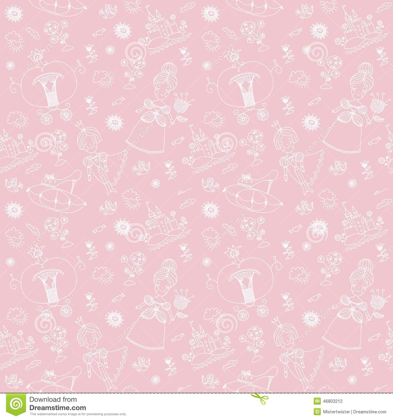 Vector Seamless Background. Seamless Pattern. Stock Vector ... X 23 Costume