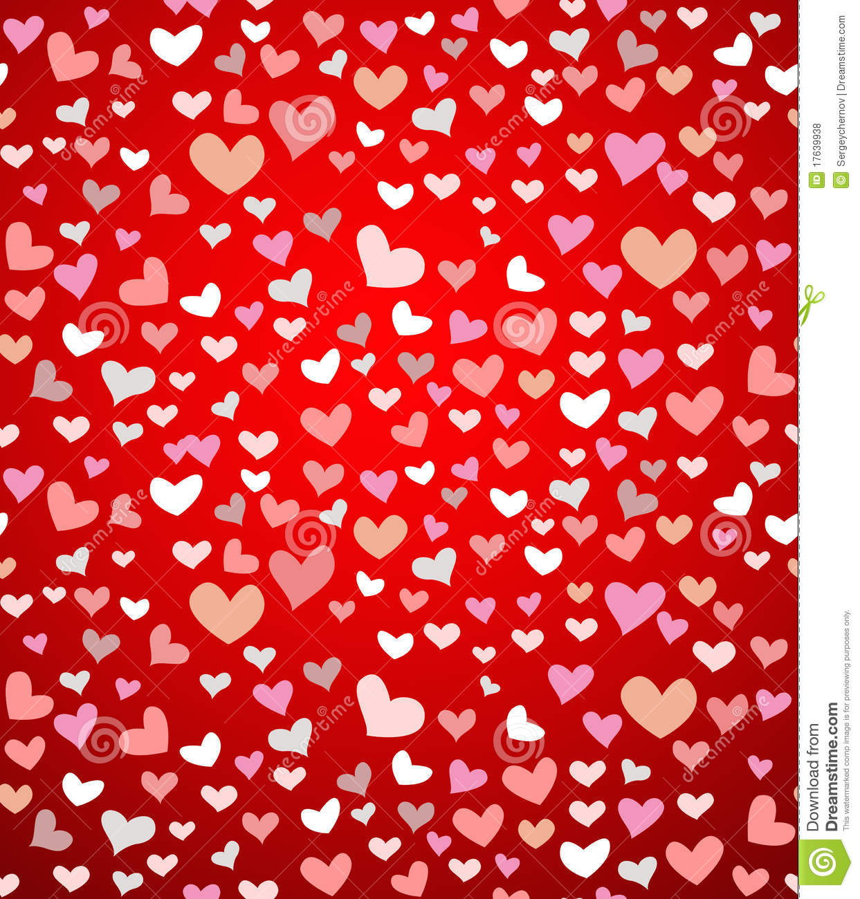 Vector Seamless Background For Valentine S Day Royalty