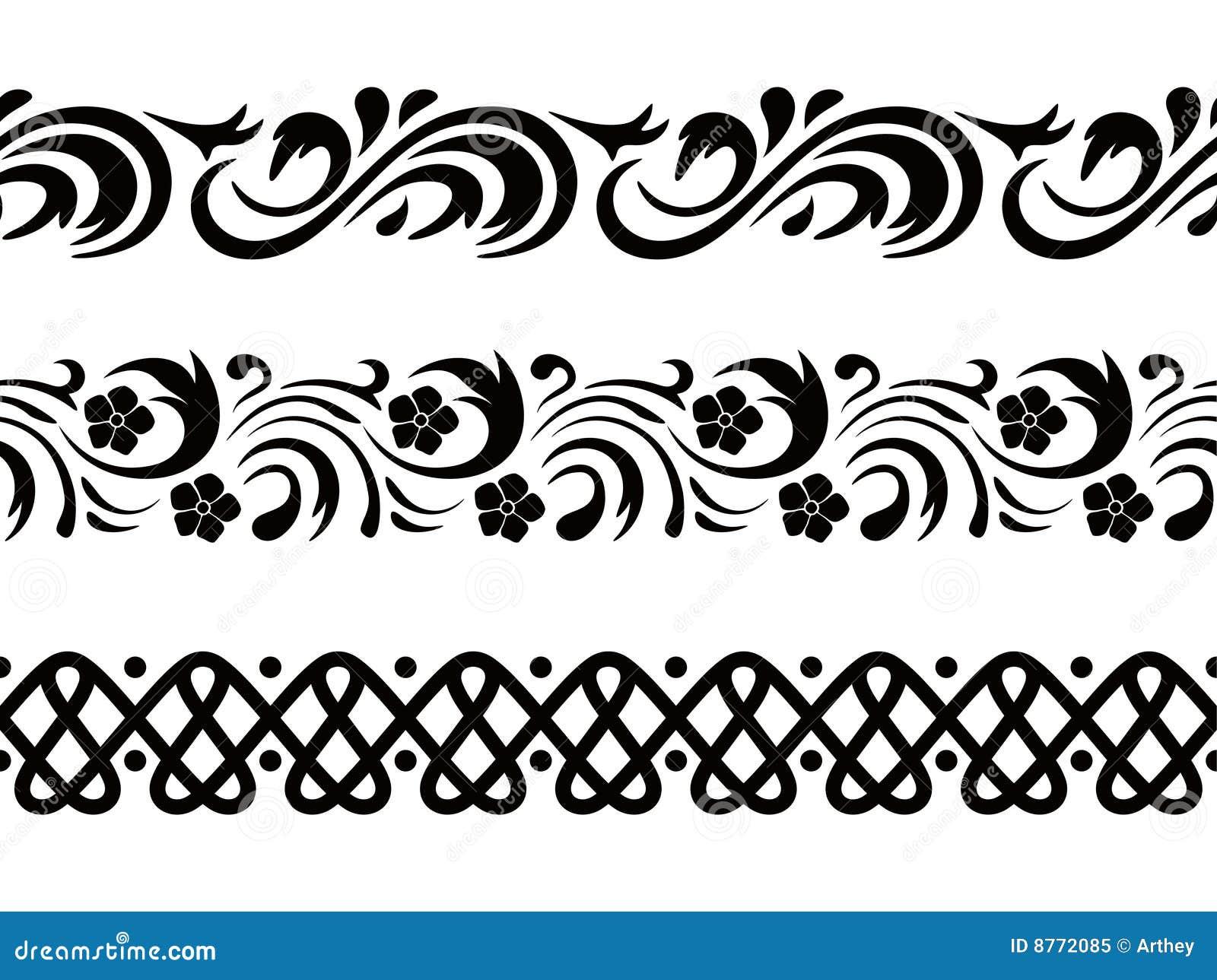 zebra print wallpaper border black and white
