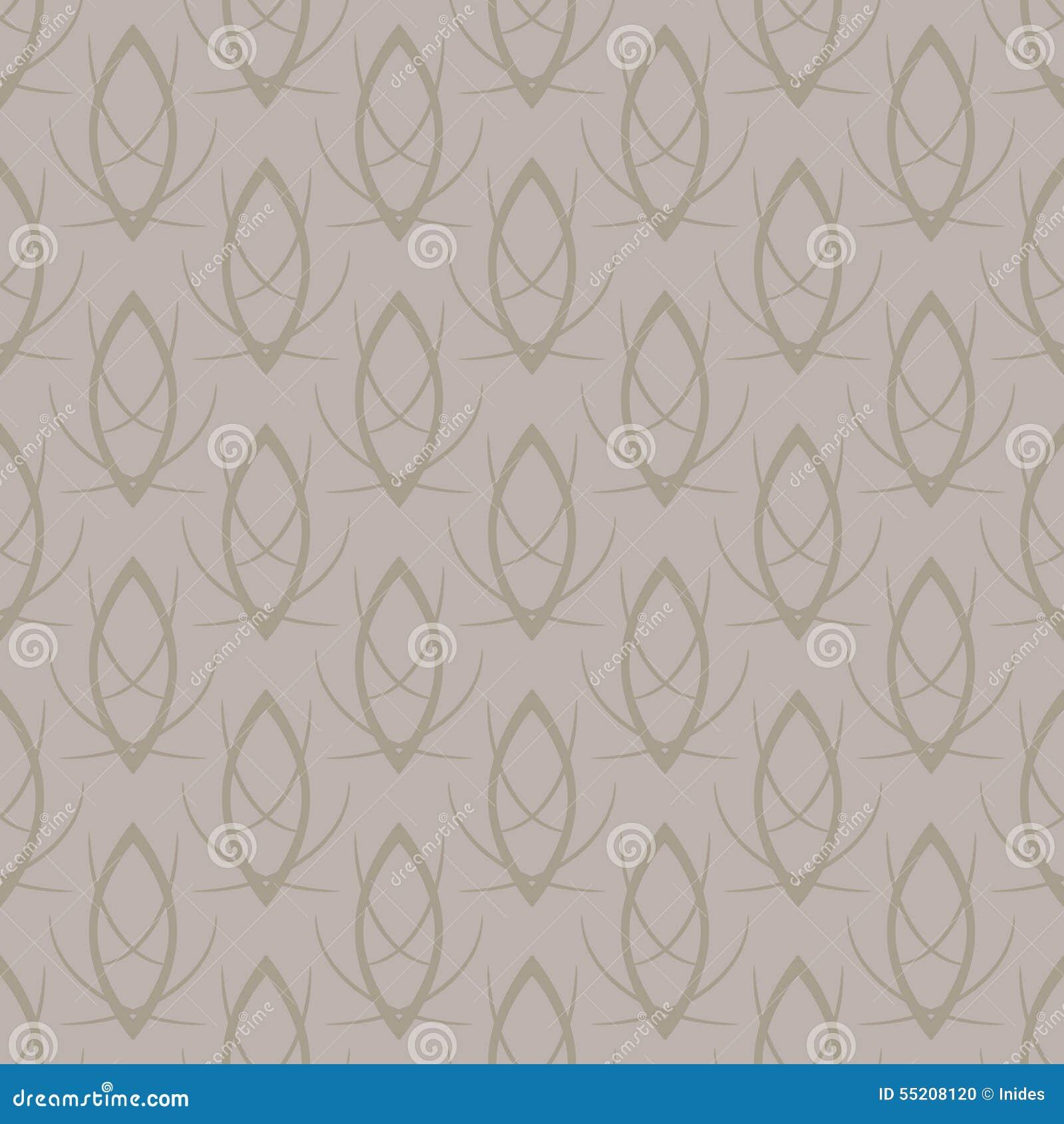 vector seamless elegant gold pattern background stock